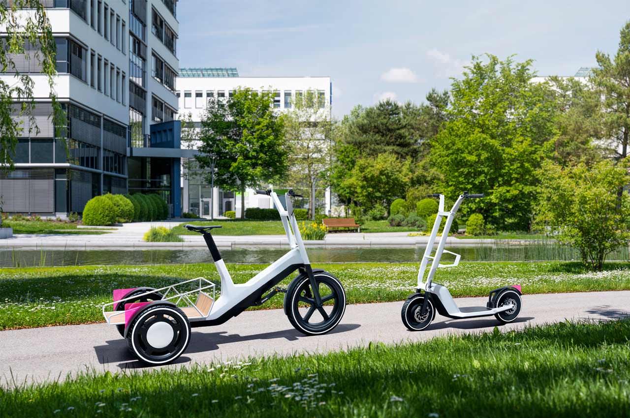 BMW представила трицикл и самокат, но не просто электро