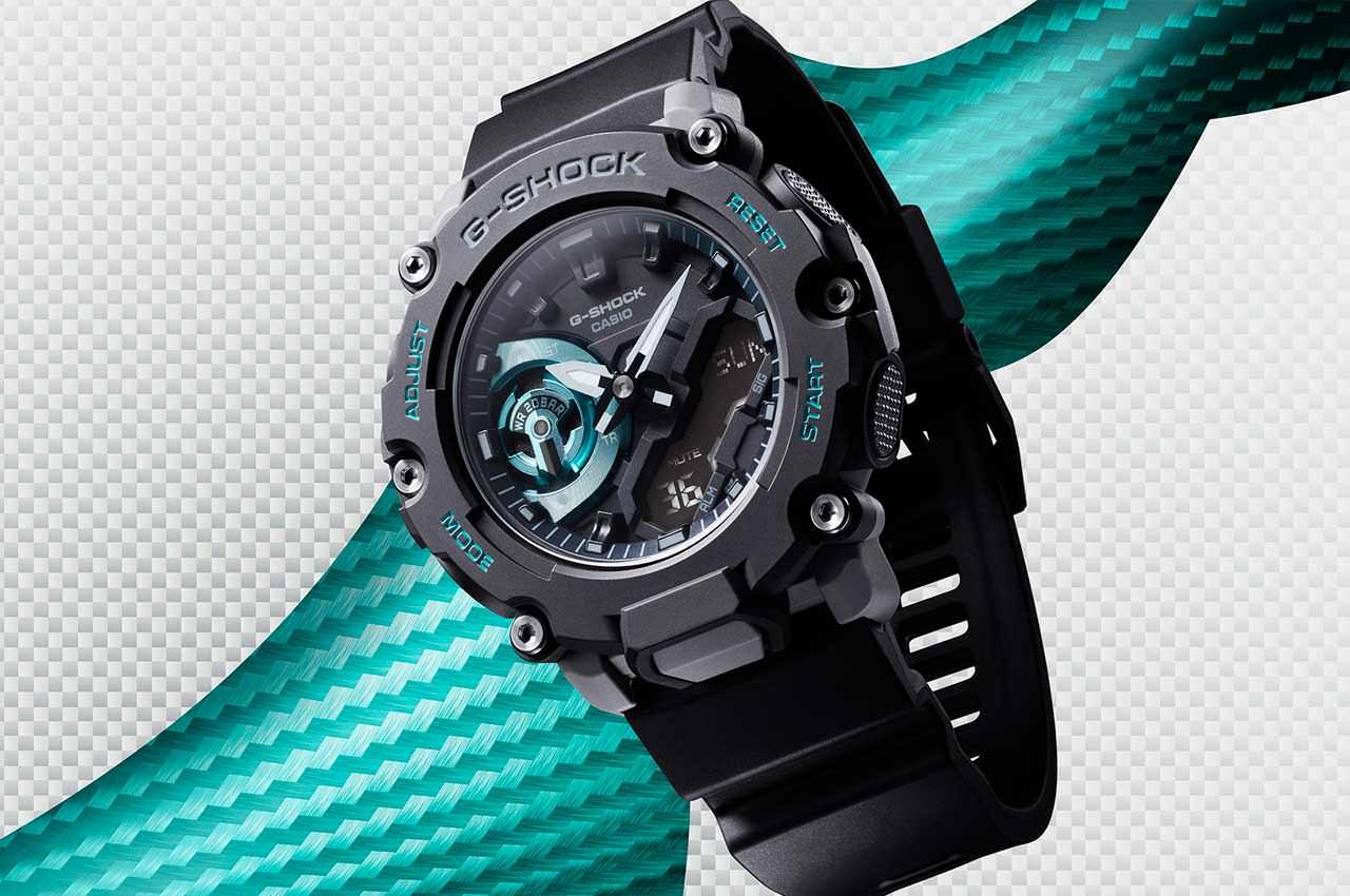 Casio представила недорогие часы GA2200 серии G-Shock