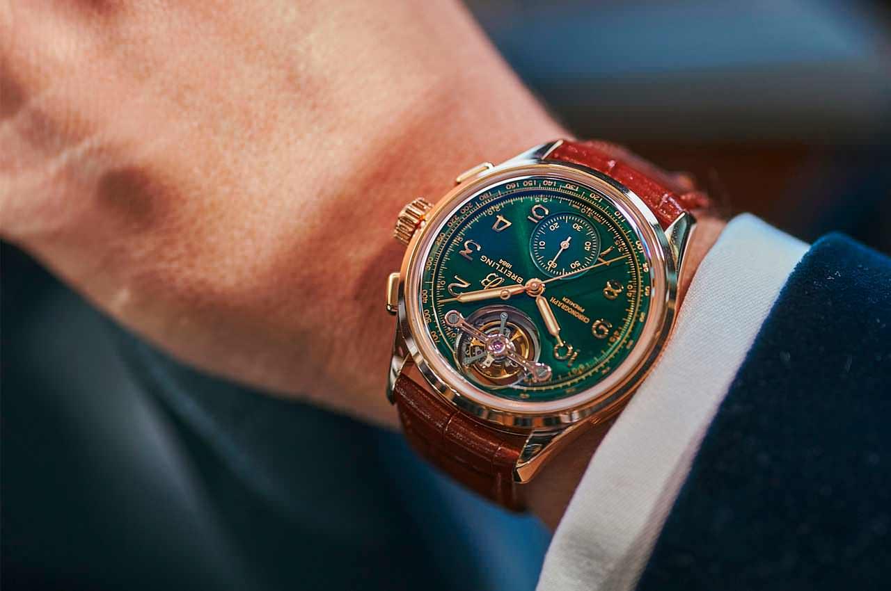 Breitling выпустил последние часы для Bentley в красном золоте