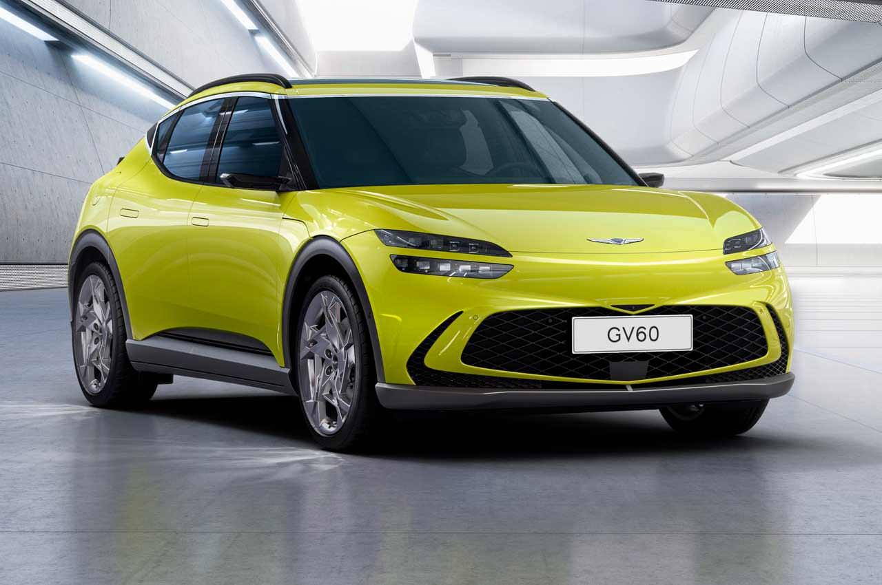 Genesis выпустила первый электромобиль. Это кроссовер GV60