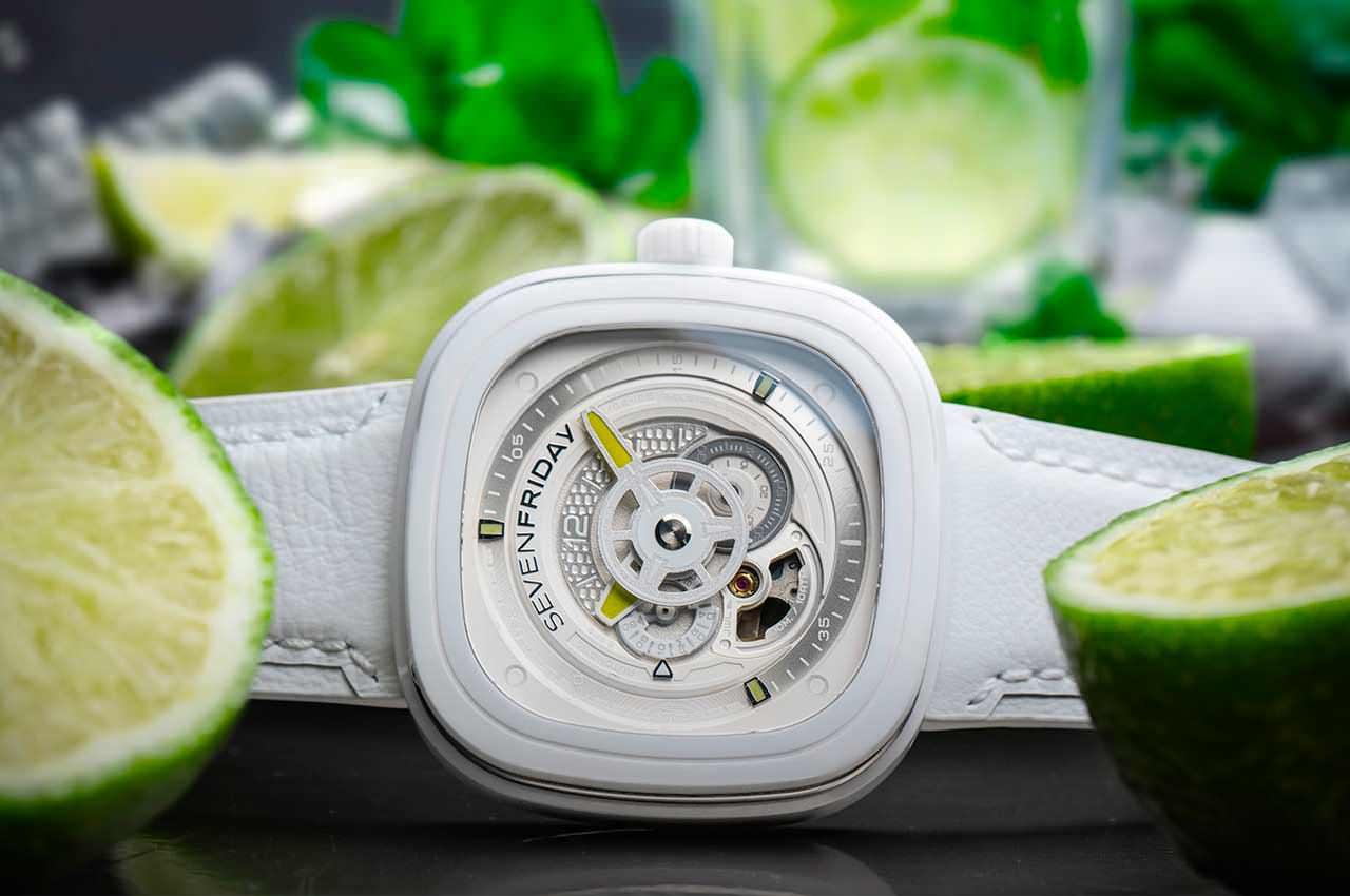 SevenFriday выпустил пляжные часы в честь коктейля кайпиринья