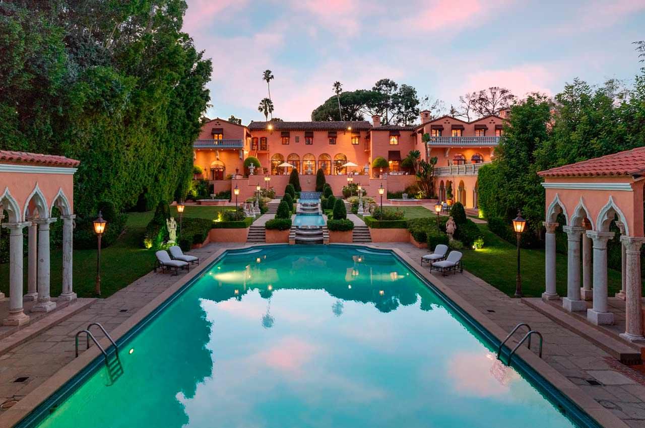 Самый дорогой дом в Беверли-Хиллз продадут на аукционе