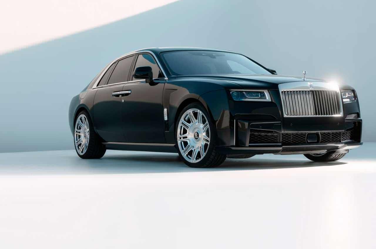 Spofec подготовил тюнинг новому Rolls-Royce Ghost на 676-сил