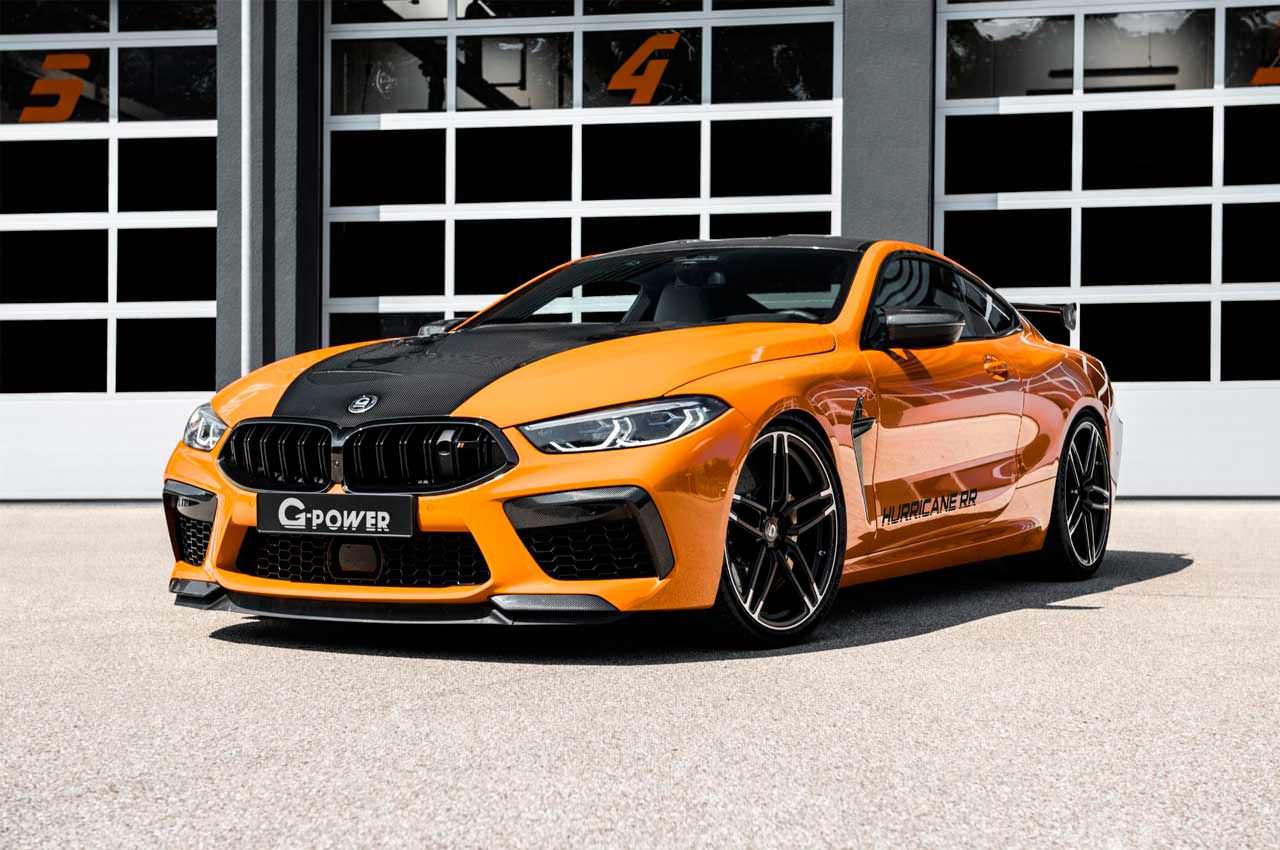 G-Power сделал тюнинг BMW M8 в зверя G8M Hurricane RR