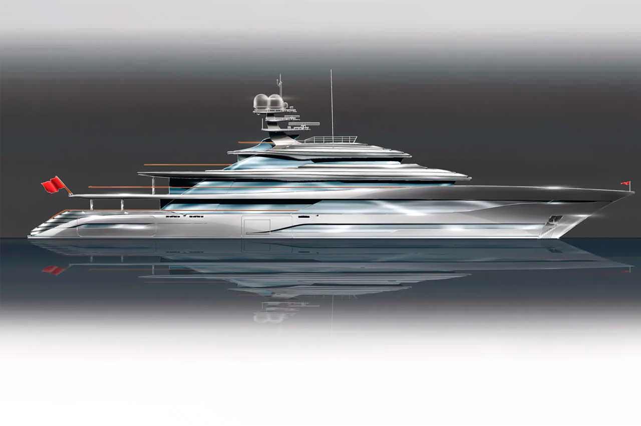 D-iD назвала концепт 77-метровой яхты именем богини Тейи