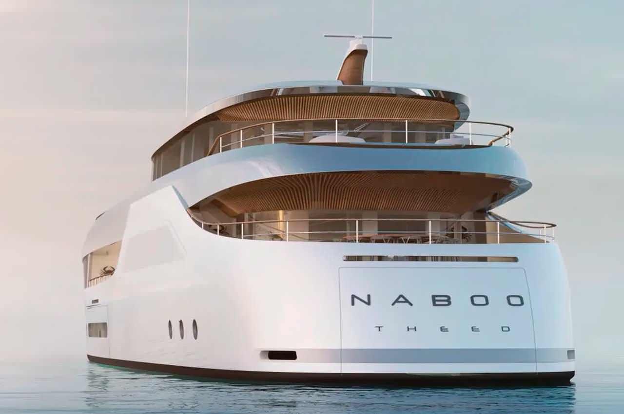 Представлена суперъяхта Naboo с упором на эко-устойчивость