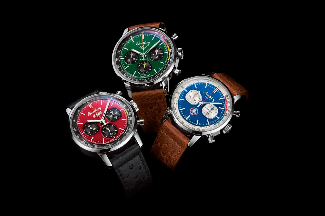Breitling посвятил часы масл-карам Corvette, Mustang и Shelby
