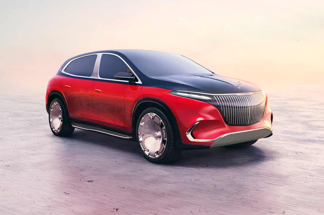 Mercedes показал топовый электро-кросссовер Maybach EQS
