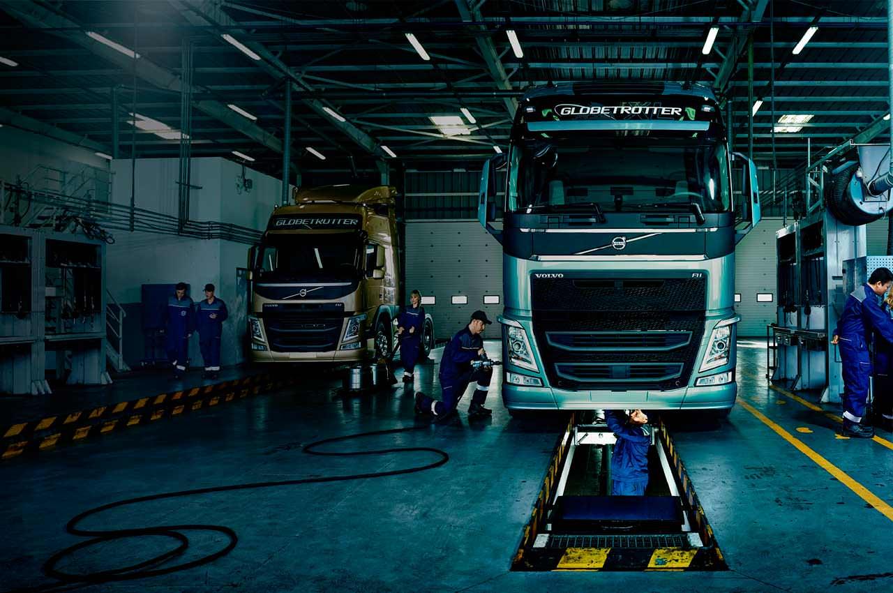 СТО для грузовых автомобилей: куда лучше обратиться в Киеве?