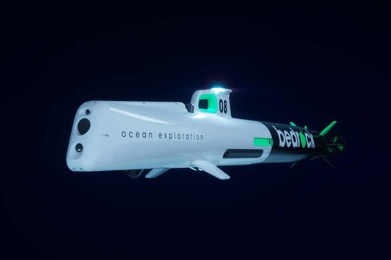 Автономная субмарина от Bedrock ускорит картографирование океана