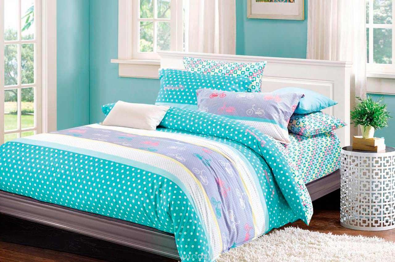 Современное постельное бельё. Материалы, дизайн и размер